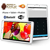 Indigi® 7 Android 4.4 Kitkat Tablet PC w/ 3G Wireless Smartphone Unlocked AT&T T-Mobile