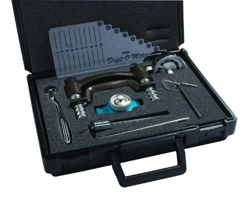 Hydraulic Hand Evaluation Set - Baseline 12-0117 Hand Evaluation, 7-piece Set, Features HD 200 lb HHD and 30 lb MPG
