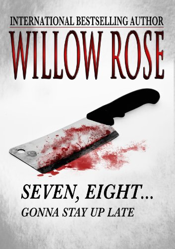 Fourteen year old Amalie thought she would be safe at the festival without her parents finding out… But when found herself in a man's basement, she knew she wasn't safe anymore. She was trapped.  Willow Rose's international bestselling Scandinavian thriller Seven, Eight … Gonna Stay Up Late