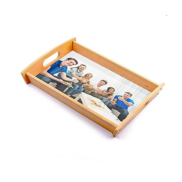 Dkora-T - Bandeja de madera personalizada Pequeña - 34x21cm 2