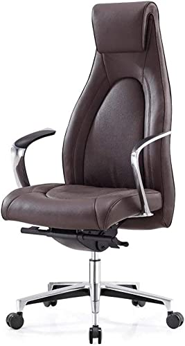 Modern Vanderbilt Genuine Leather Adjustable Executive Chair