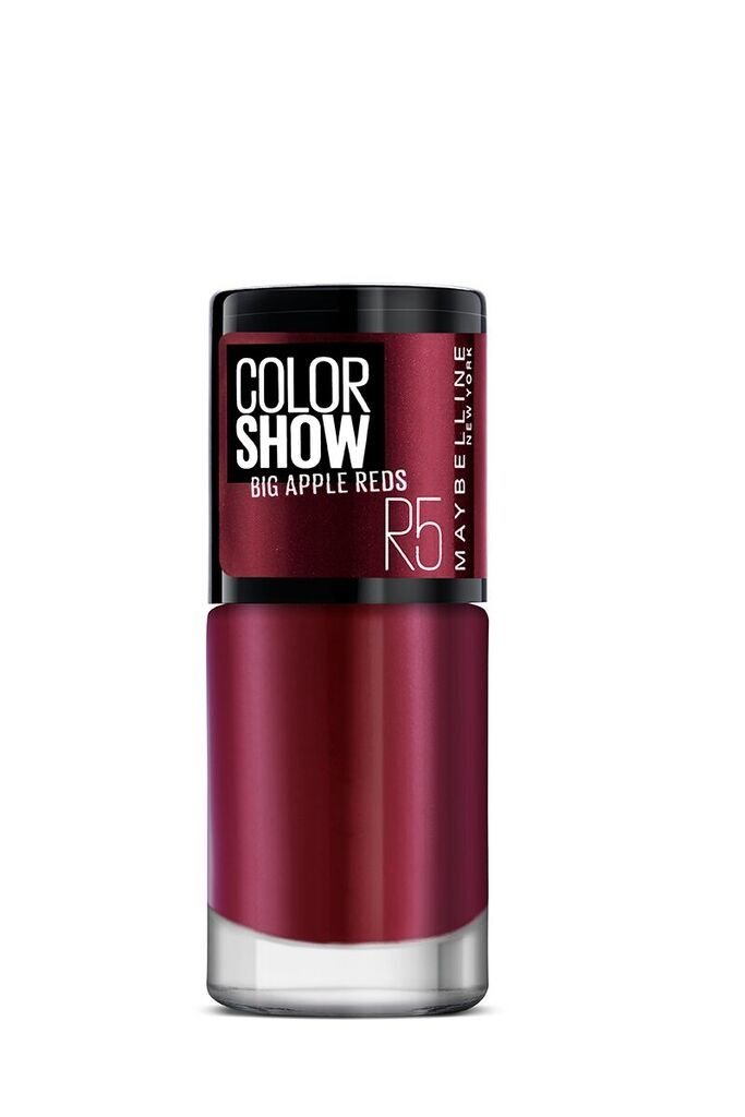 Buy Maybelline New York Color Show Big Apple Nail Paint, Hot Pepper ...