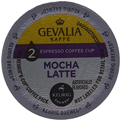 Gevalia Kaffe 2-Step K-Cup Froth Packet Coffees Pack of 3 6 Count Boxes