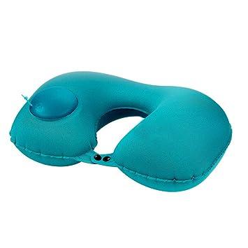 Amazon.com: AGWSGNM almohada de viaje inflable – portátil ...