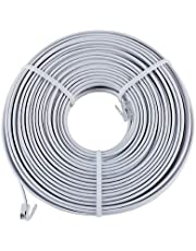 100 Feet Telephone Extension Cord, Cable - Great Grand River™