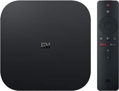Xiaomi Mi Box S (International Version) - 4K HDR,Android 8.1,Voice Remote