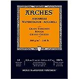 Arches Bloc aquarelle grain torchon A5 300 g 12 pages Naturel Blanc
