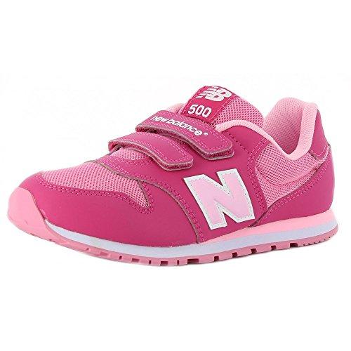 New Balance - New Balance 500 Sneaker Fuxia Rosa - Pink, 37,5
