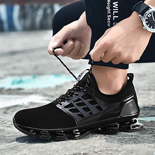 Les Sports Chaussures Chocs Personnalité Forty summer two Course Amateurs Élasticité Noir Kmjbs De Lame p8xwa4qY