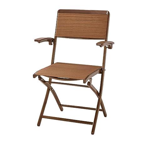 Amazon.com: Silla de comedor plegable, silla de comedor ...