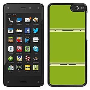 Stuss Case / Funda Carcasa protectora - Resumen de plástico Líneas minimalistas; - Amazon Fire Phone