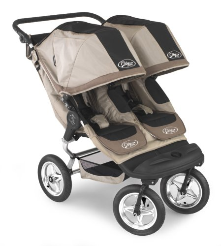 Baby Jogger City Elite Double Stroller Tan Black B000wfzzvw