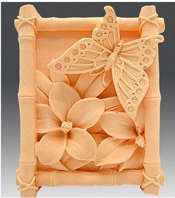 Let'S Diy Butterfly Flowers Handmade Soap Mold Silicone Candle Moulds - Flower Silicone Candle