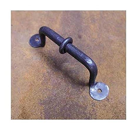 Pleasant 4 In Hand Forged Iron Drawer Pull Set Of 10 Amazon Com Interior Design Ideas Lukepblogthenellocom