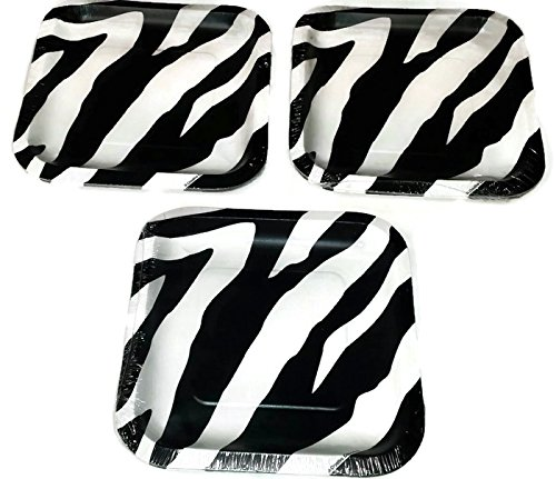 Zebra Plates - 3