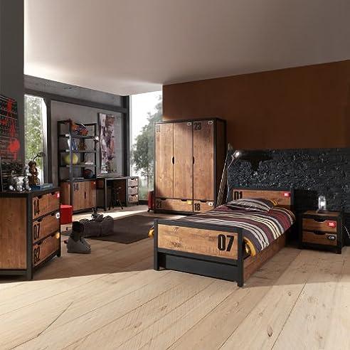 Kinderzimmer Kiefer Massiv Schreibtisch Bett Kindermobel Regal