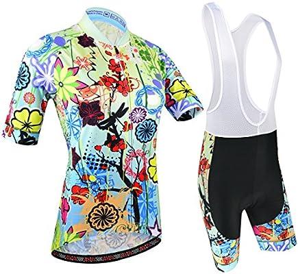 Ciclismo Conjunto de Ropa, Maillot Ciclismo y Culotte Pantalones ...