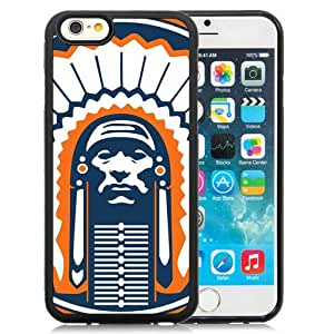 Beautiful And Unique Designed Case For iPhone 6 4.7 Inch TPU With Ncaa Big Ten Conference Football Illinois Fighting Illini 9 Phone Case