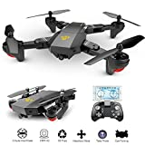 Izi Advance 2.0Mp Wifi 720P 120° Wide Angle Camera Drone FPV Quadcopter With Remote Controller - Black
