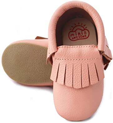 Toddler Moccasins Slippers Girls Boys