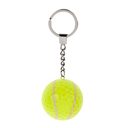 Sharplace Llavero Bola Regalo Deportivo Accesorio de Decoracion de Bolsa Duradero - Tenis
