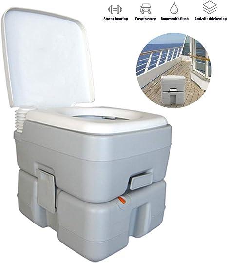 Enwebalay Lavabo Portatil Camper, WC Quimico con Indicador ...