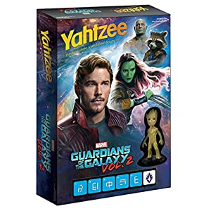 USAOPOLY YAHTZEE of Guardians of The Galaxy Vol. 2