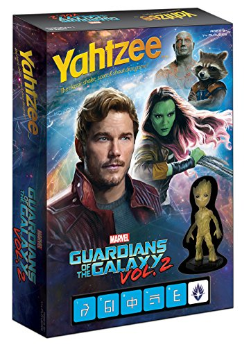 USAopoly Guardians of the Galaxy Vol. 2 Yahtzee Game by USAopoly