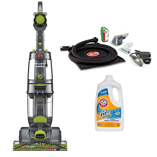 Hoover Steamvac Deep Cleaner - Hoover Dual Power Pro Deep Carpet Cleaner with Accessories and Pet Formula
