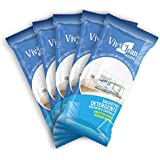 Window cleaning wet wipes. Window car wipes. Pack of 5. 20 Count Each. Total 100 wipes. MADE IN ITALY.