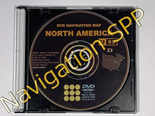 Latest Toyota 2018 Navigation Map Update DVD Gen 6 17.1 U99 86271-GEN06-17