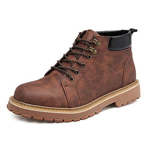 Martin Casual Stivaletti Moda Alla Alto Da Marrone Iseymi Lavoro Boot Classic Allacciatura Top Uomo In Yq47yaw