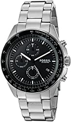 Fossil Men's CH3026 Sport 54 Chronograph Stainless Steel Watch