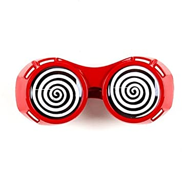 5d1e1125b07 Hypnotic Dizzy Eye Red Goggles  Amazon.co.uk  Toys   Games