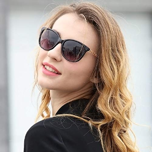 Amazon.com: Gafas de sol para mujer, estilo retro, marco ...