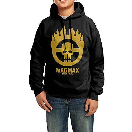 Price comparison product image Funny Black Sweatshirts 80's Mad Max Fury Road Sweatshirt For Adolescent