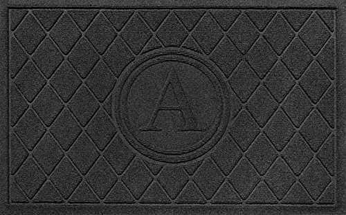 Bungalow Flooring Argyle Monogram M Door Mat, 24 x 36