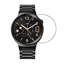 Huawei Watch Tempered Glass Screen Protector,Full Coverage [Bubble-Free] [9H Hardness] [Scratch-resistant] screen protector Perfect Fit for huawei smart watch Crystal Clear