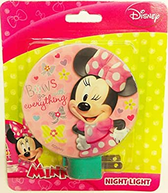 Disney Minnie Mouse Night Light Quot Bows Go With Everything