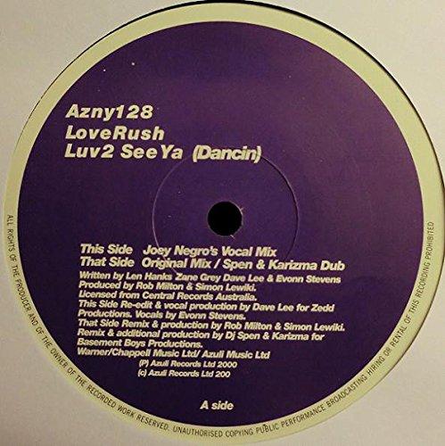 Luv 2 See Ya Dancing - Loverush 12