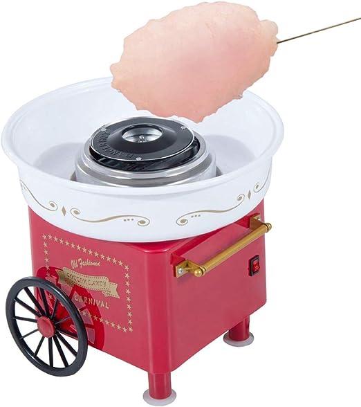 YMJJ Cotton Candy Maker Fácil de Usar, Divertido y emocionante para Hacer algodón de azúcar rápidamente, diseño Simple para cumpleaños, Fiestas y Celebraciones: Amazon.es