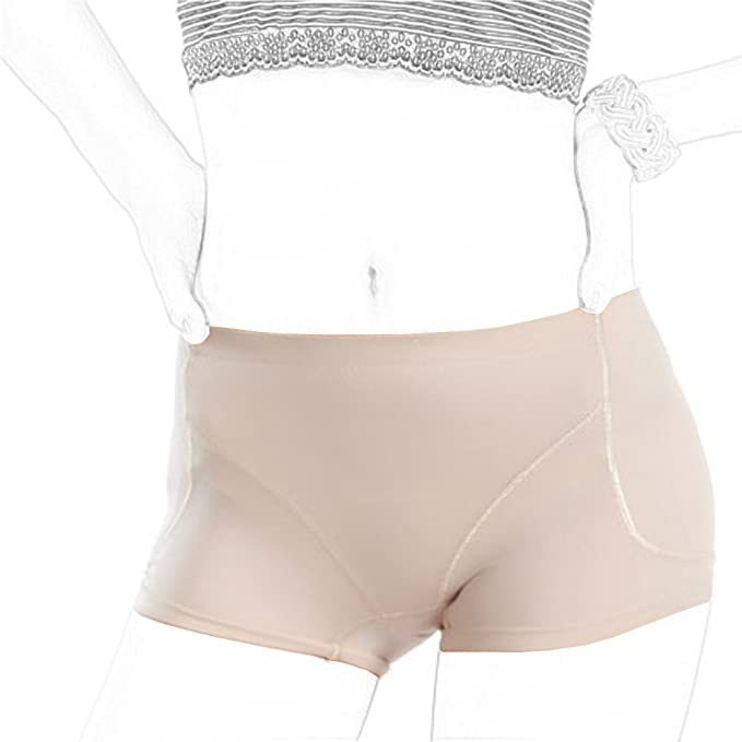 d37f8063e31 Toweter Women s Shapewear Hip and Butt Padded Panty (L(Waistline 61-65cm