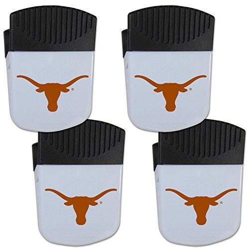 Siskiyou NCAA Texas Longhorns Chip Clip Magnet with Bottle Opener, 4 ()