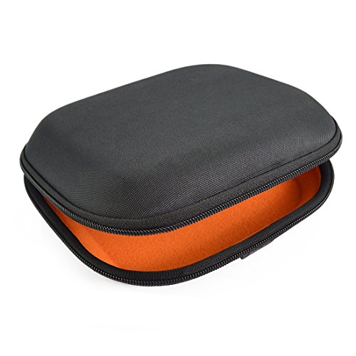 Geekria Headphones Case for Sony MDR-ZX100, ZX110, ZX300, ZX310, XB200, ZX102DPV, Sennheiser HD218, HD229, HD239 Headphones Hard Carrying Case / Travel Bag with Space for Cable, AMP, Parts and Accessories (Black)