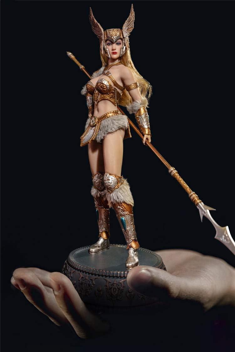 "1//12 Scale TBLeague PL2019-130 Vampirella Female Head Carving Model for 6/"" Doll"