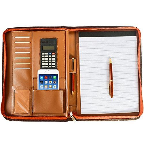Portfolio Case Ring Binders Arvada Co PU Leather Portfolio