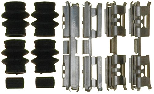 ACDelco 18K2470 Professional Rear Disc Brake Caliper Hardware Kit with Clips, Seals, and - Brake Rear Caliper Seal