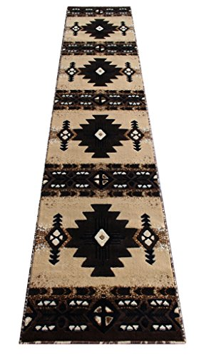 South West Runner Rug 2 Feet 4 Inch X 10 Feet 11 Inch Berber Design # C318 by Concord Global Trading