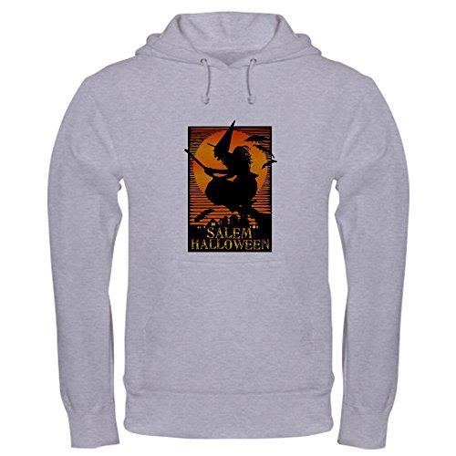 City Of Salem Ma Halloween (CafePress Salem Halloween Hooded Sweatshirt Pullover Hoodie, Classic & Comfortable Hooded Sweatshirt Heather)