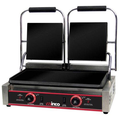 Double Grill Electric - Winco ESG-2 Sandwich Grill, electric, countertop double